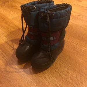 Other - Sorel Toddler Teal Snow Boots- Size 8
